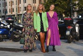 """Móda z ulic Milána: 14 outfitů, od kterých můžete """"opisovat"""""""