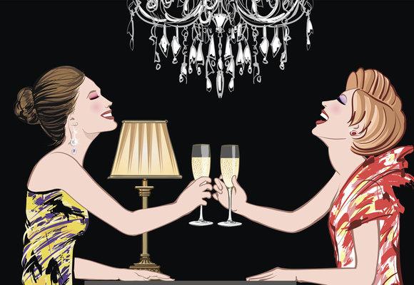 Blog Báry Šťastné: Dámičky paří taky aneb Je možné po 40 pít s elegancí a neunudit se přitom k smrti?