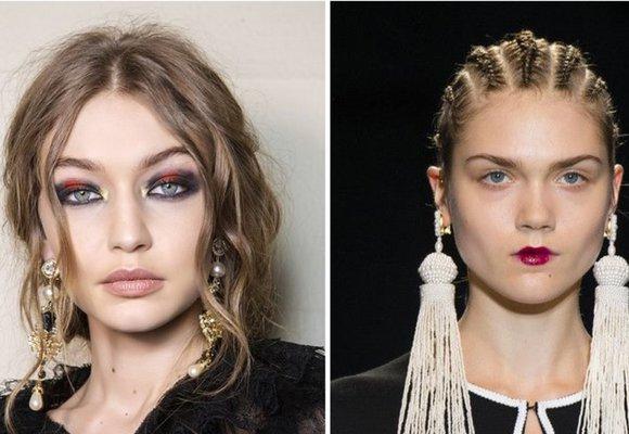 Podzimní vlasové trendy z přehlídkových mol: Copánky, vlny i nadýchané retro!