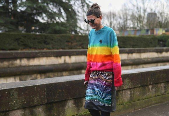 Mikrotrend, který nás baví: Oblečení & doplňky v barvách duhy