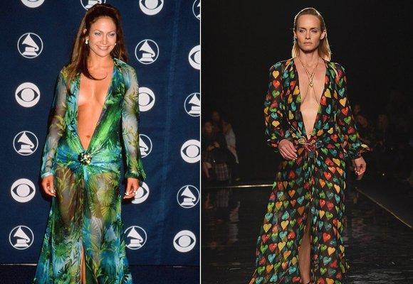 Donatella Versace dala novou podobu ikonickým šatům, které proslavila JLo!