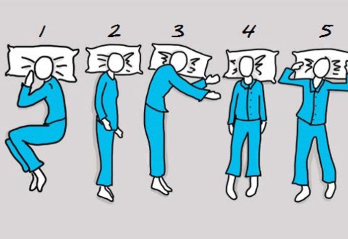 Psychologický test: Poloha spánku o vás mnoho prozradí