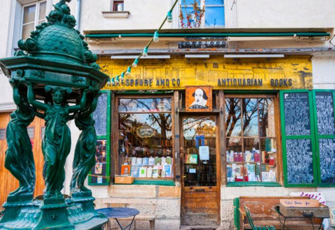 Pařížské knihkupectví Shakespeare and company