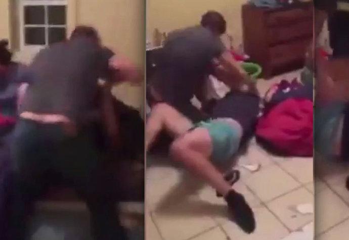 Paroháč zbil muže, která mu hupsnul na manželku.