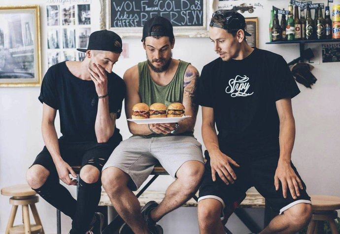 Dobroty z Burger Inn