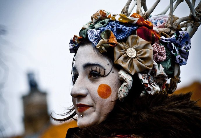 K tradičnímu masopustu patří masky