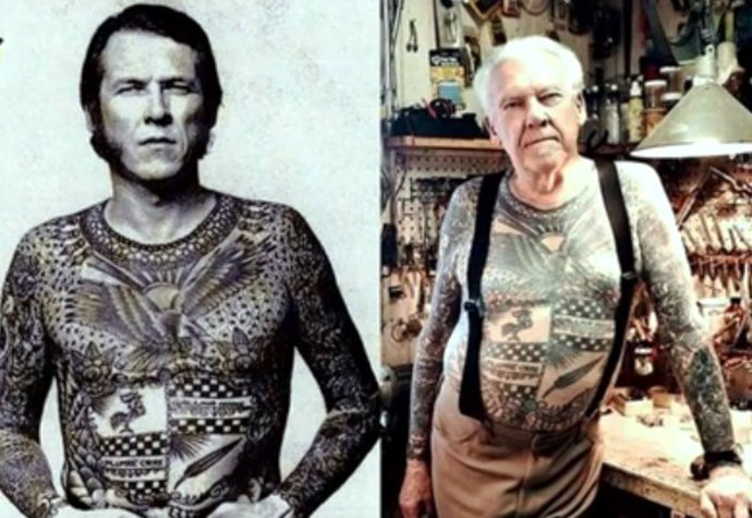 Jak vypadá tetování po letech.