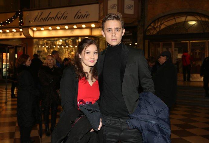 Vincent Navrátil a Sabina Rojková