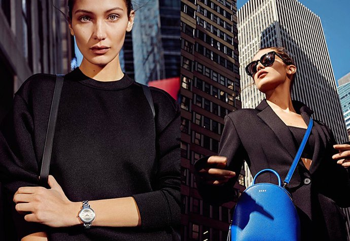 Bella Hadid pro Donna Karan New York