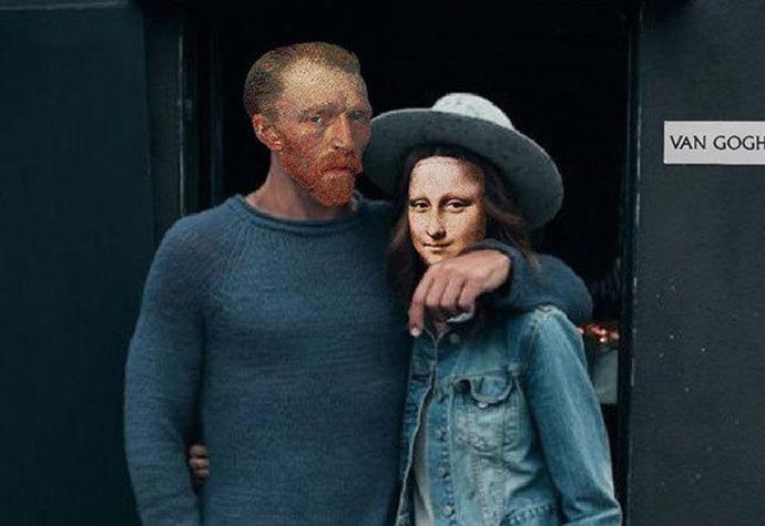 Van Gogh s Mona Lisou