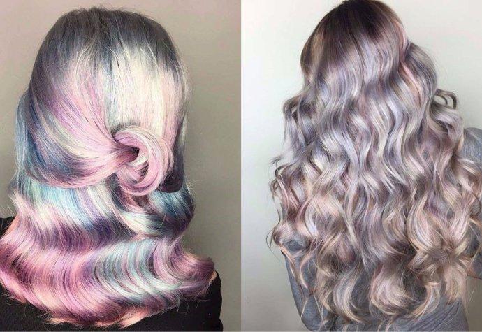 Chcete experimentovat s barvou  Hitem na léto jsou perleťové vlasy ... 1bfb772d8a