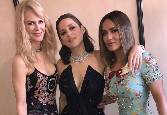 VIP selfie: Nicole, Marion a Salma