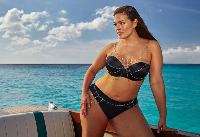 Ashley Graham v kampani Swimsuits For All