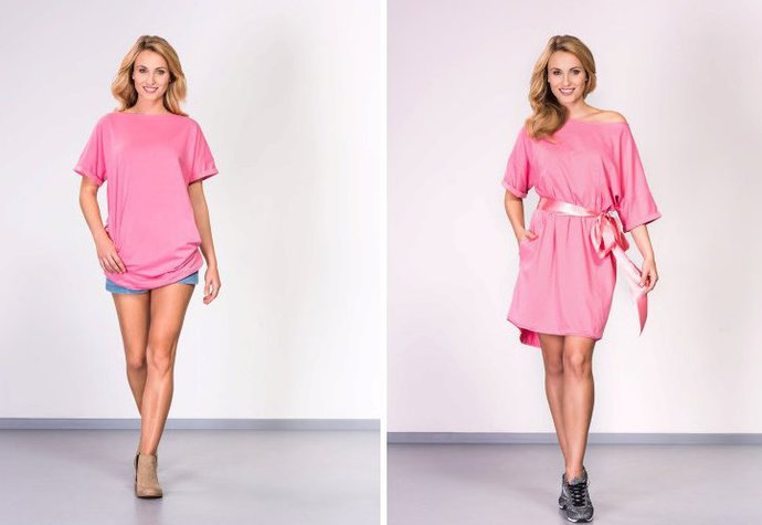 Oficiální Tričko Avon Pochodu můžete nosit klasicky a nebo jako šaty! Cena   399 Kč fa50a181fc