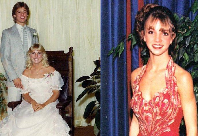 Jak vypadali slavní na maturitních plesech?
