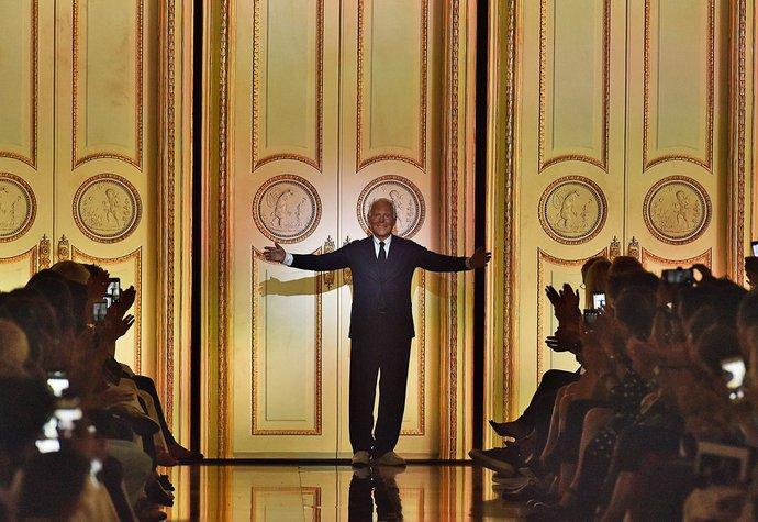 Giorgio Armani slaví 83. narozeniny