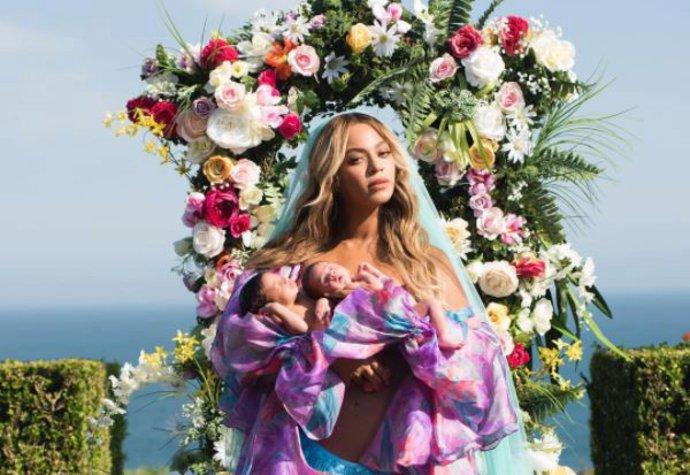 Beyoncé s dvojčaty