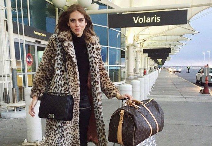 Chiara Ferragni, sladěná, připravená, perfektní