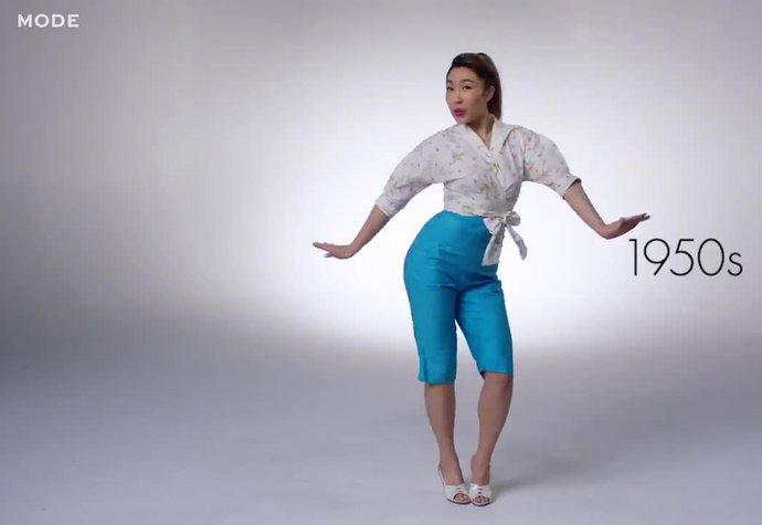 Sto let módy  Od sukně k funkčnímu prádlu. Jak se změnilo oblečení na  cvičení   bf95e14df3a