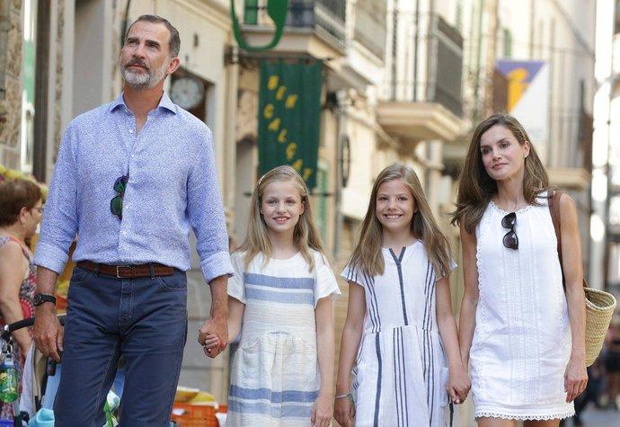 Španělská královská rodina