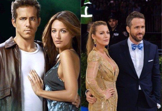 Ryan Reynolds a Blake Lively se seznámili při natáčení filmu The Green Lantern