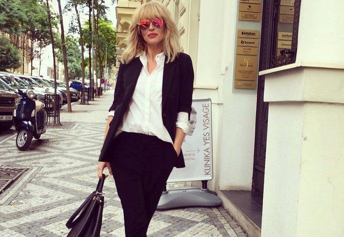 Simona Krainová a její inspirativní outfity