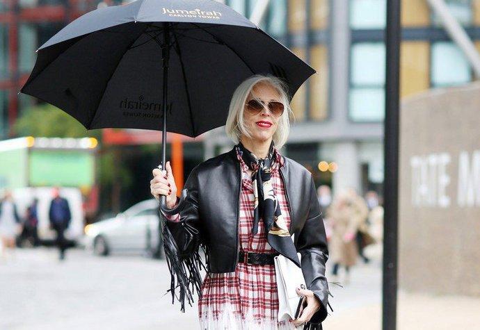 Street style na londýnském fashion weeku