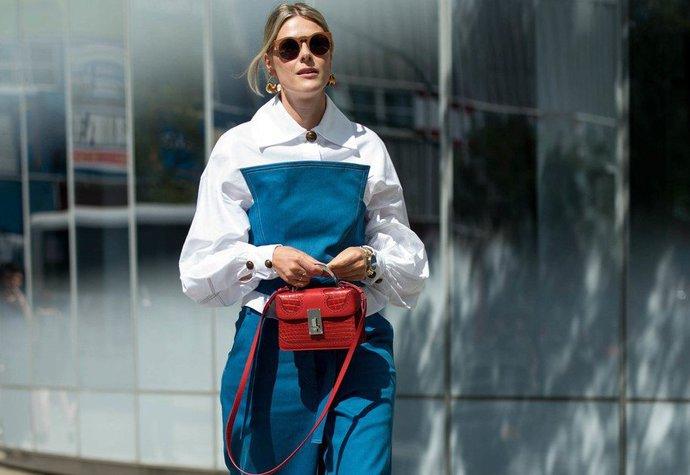 3690a90f51b Módní inspirace z ulic New Yorku  Bílé boty