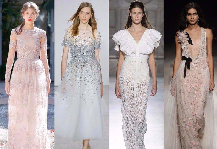 Svatební šaty z přehlídek