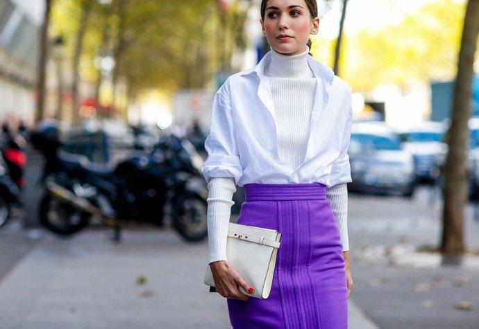 Diletta Bonaiuti na pařížském fashion weeku