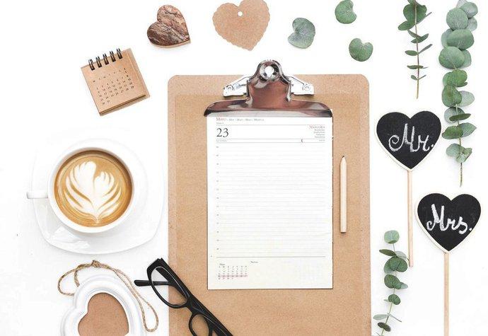 Co vše zařídit na svatbu – přehledný harmonogram pro snadné plánování