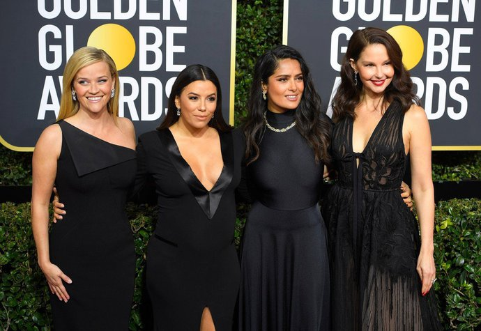 Reese Witherspoon, Eva Longoria, Salma Hayek, Ashley Judd