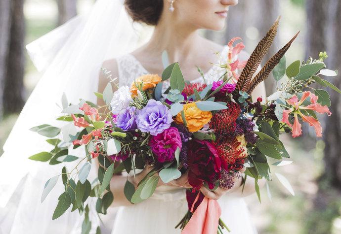El ramo y significado de las flores