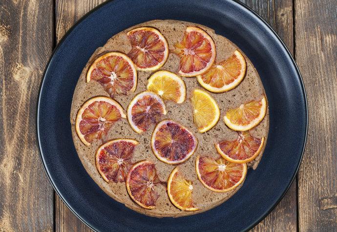 Chuť jihu: Upečte si šťavnatý pomerančový koláč!