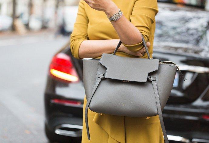 Street style v Paříži – luxusní kabelka Céline