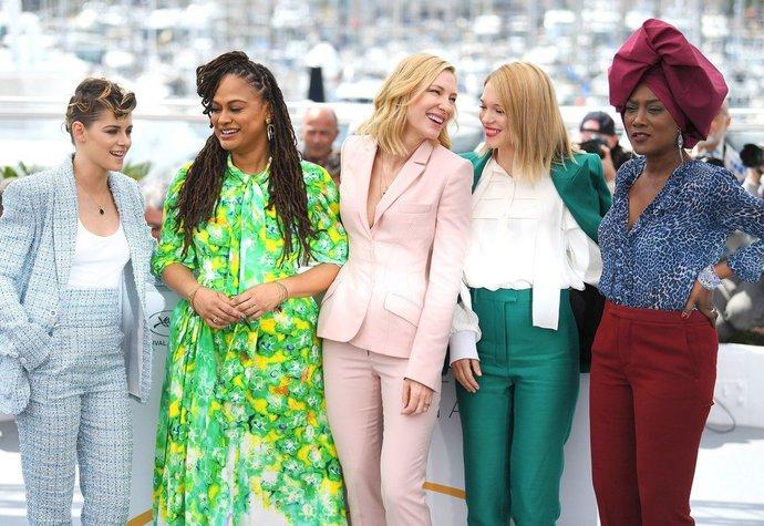Dámská část poroty v Cannes