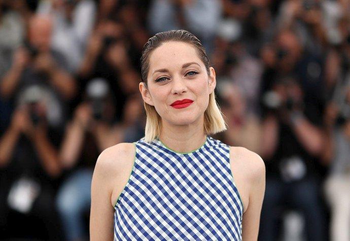 Marion Cotillard na festivalu v Cannes