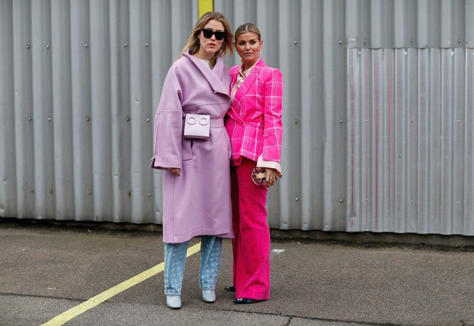 Annabel Rosendahl a Janka Polliani na kodaňském fashion weeku