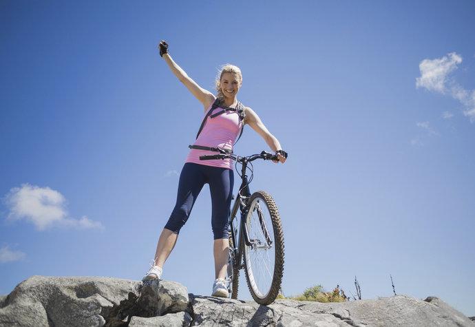 Kolo a hubnutí: Jezděte alespoň hodinu a správně se najezte