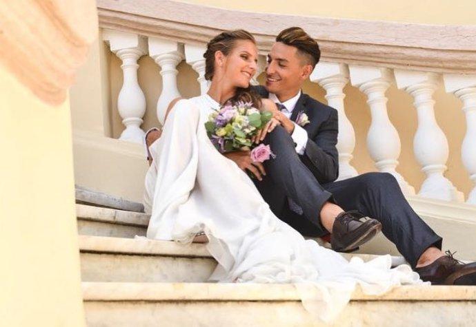 Karolína Plíšková a Michal Hrdlička se vzali