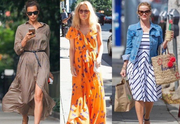 Letní inspirace  Šaty podle slavných žen. Kupte si podobné!  77ff772818