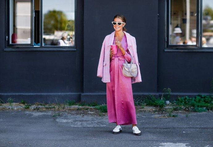 9f1299602c Nina Sandbech na kodaňském fashion weeku