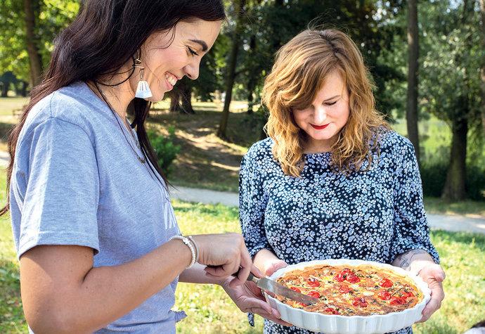 Piknik pro 21. století: Jíst venku je sexy