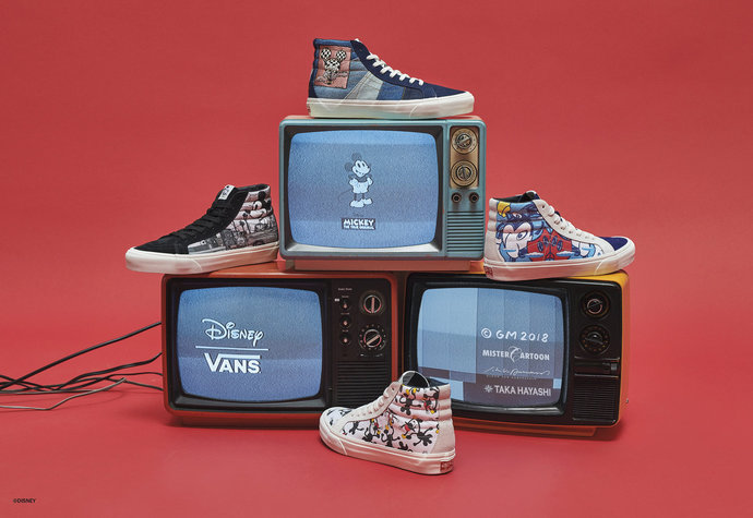 Vault by Vans x Mickey Mouse
