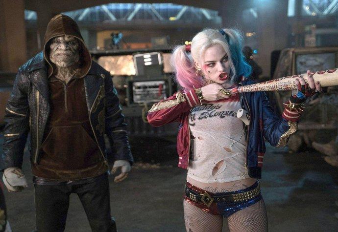 Margot Robbie ve filmu Sebevražedný oddíl