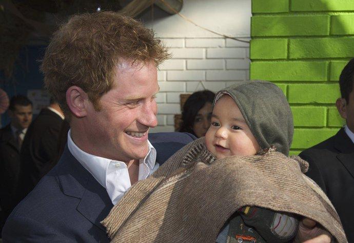 Princ Harry bude určitě skvělý táta!