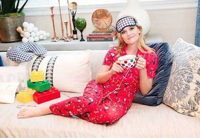 Pyžamová pohoda v podání Reese Witherspoon df6b0d24c6