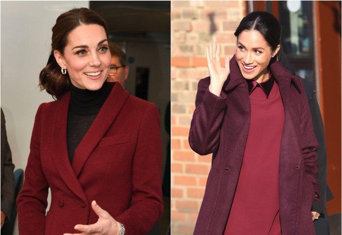 Kate a Meghan nám připomněly nejoblíbenější barvu podzimu a zimy