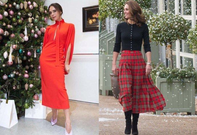 fa297484ba9 Vánoční outfity podle módních ikon  Jak se obléct ke stromečku nebo na  večírek