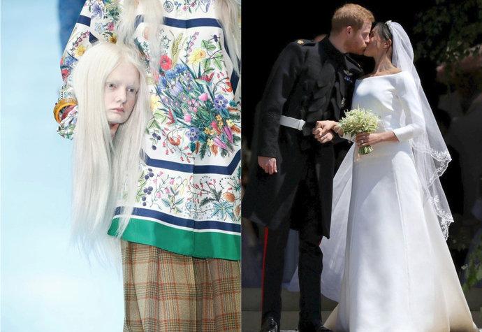 Hlava Gucci i šaty Meghan  10 událostí ze světa módy f99a9a29e69